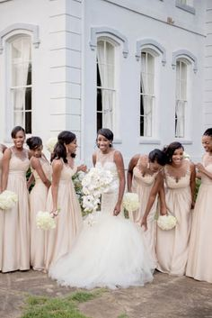 There's nothing like being surrounded by sisterly love on your wedding day. These are just a few of the sweet bridal party moments that warmed our hearts | Essence.com