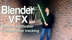 In this Blender tutorial, learn the basics of two point motion tracking in Blender and discover how to use that to create a lightsaber effect! Footage used: ...