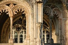 Bussaco Palace - Detail. Portugal