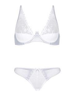 Wholesale Transparent Lace Bra Sets Lingerie In Stock