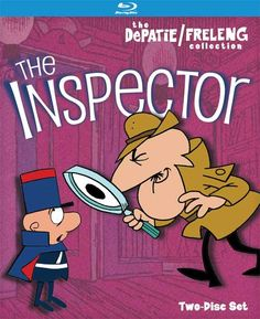 The Pink Panther Show - April Date for 'Inspector,' 'Crazylegs Crane,' 'Ant/Aardvark' on DVD, Blu