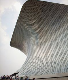 Fernando Romero's amorphous, aluminum-clad modern art museum, opened in 2011, rises like a glistening 64,583-square-foot sculpture out of Mexico City's Polanco district