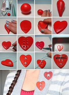 Mended Heart Tutorial | Flickr: partage de photos!