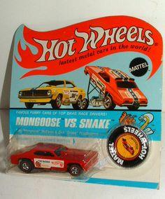 Hot Wheels Mongoose Funny Car MIP