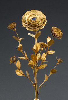 Rose d'or Detail 1 @ Musée de Cluny