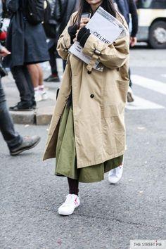 Outside Celine / Paris Fashion Week SS18