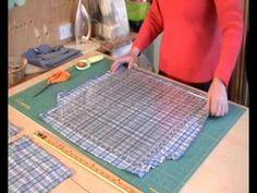Preparing Shirts for Quilt Making 2