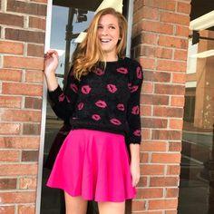 Pink Skater Skirt – Rebecca's of Clinton