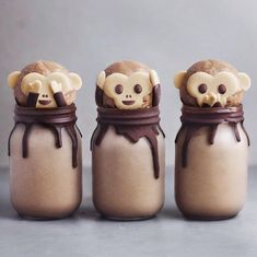 Monkey shakes tag someone who would like these❢ I love stumbling across new amazing creative accounts! Clearly living under a rock
