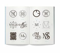 'Monogram logo' book by Leterme Dowling & Counter-Print | typetoken®