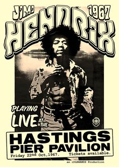 Jimi Hendrix appeared on Hastings Pier in 1967 - if that's not a big enough reason to relaunch the pier, I don't know what is!