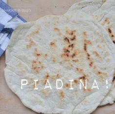 Piadina: ricetta senza strutto