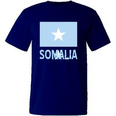 """Lovely design features the #Somali (or Somalian) #Flag with the word """"Somalia"""", below, in the colours or colors of the flag. Terrific for travelers wanting to recall a trip, vacation or holiday. Wonderful for honoring your ethnic heritage, ancestry and culture. Creative teachers may find some items good teaching aids or tools. Great gift ideas for Christmas, birthday or anytime. $24.99 http://ink.flagnation.com from your @Auntie Shoe"""