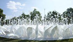 Origami garden by Anouk Vogel — Nagasaki, Japan