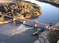 Ponte do Fandango sobre o Rio Jacuí - Cachoeira do Sul - RS