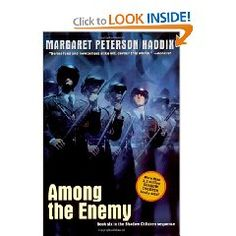 Book 5..Among the Enemy...the 6th book in a series I started last year.