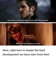 Hook is the definition of character development Once Upon A Time Funny, Once Up A Time, Shows On Netflix, Movies And Tv Shows, Best Tv Shows, Favorite Tv Shows, When You Love, My Love, Hook Ouat