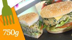 Recette de Burger Végétarien - 750 Grammes