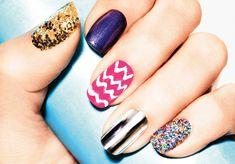 Mixed Prints Nails