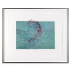 Helga Cmelka - Art in Print Aquarius, White Cotton, Night, Printed, Artwork, Shop, Graphic Prints, Woodblock Print, Handarbeit