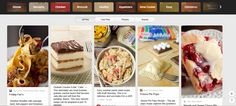 https://www.pinterest.com/kraftrecipes/  Having worked with KraftFoods for many years, they do an excellent job of managing recipes across a broad range of appealing categories.  Individual brands also do Pin It to Win It competitions to drive brand engagement.
