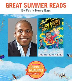 Looking for great summer reads for kids? Here's a recommendation by Patrik Henry Bass! Click through or visit scholastic.com/summer for more. #summerreading