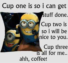Coffee minions