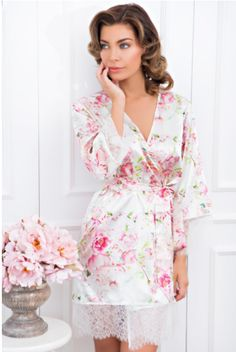 Liv floral robe  https://www.bellebridesmaid.com.au/product-category/bridal-robes/