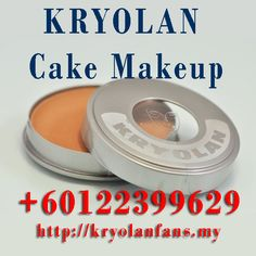 * 012-2399629 * Cake Makeup KRYOLAN for natural look