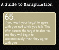A Guide To Manipulation. I love how these have a darker background than the guides to Deduction. It's ad if it's to manipulate you into believing it's all dark and. < a guide to manipulation Guide To Manipulation, The Art Of Manipulation, Writing Tips, Writing Prompts, A Guide To Deduction, The Science Of Deduction, How To Read People, Thing 1, Psychology Facts