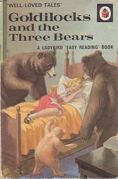 Goldilocks & The Three Vears - Ladybird Book Well Loved Tales Vintage Book Covers, Vintage Children's Books, Antique Books, Vintage Ads, Goldilocks And The Three Bears, My Childhood Memories, 1980s Childhood, Childhood Stories, Tales Series