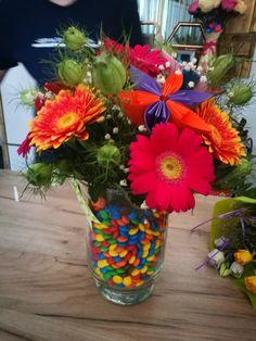 #m&m #flowers #diy ❤