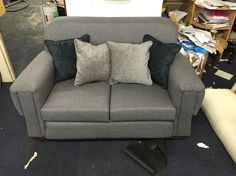 Antique re-up sofa