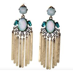Taryn Fringe Statement Earrings