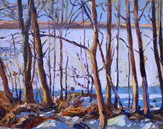 Garth Armstrong - Winter Miskwabi Haliburton 8 x 10 Canadian Painters, Winter, Painting, Art, Winter Time, Painting Art, Paintings, Kunst, Paint