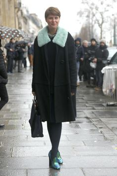Street Style: 12 Looks from Haute Couture FW'14 in Paris - FLARE