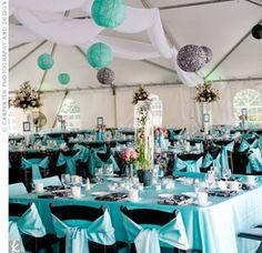 tiffany blue wedding theme favors