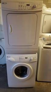 """victoria, BC for sale """"appliances"""" - craigslist Stacked Washer Dryer, Washer And Dryer, Dryers, Washers, Appliances, Victoria, Gadgets, Accessories, Clothes Dryer"""