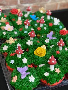 Custom Cupcakes, Cupcake Toppers, Tree Skirts, Christmas Tree, Holiday Decor, Personalised Cupcakes, Teal Christmas Tree, Xmas Trees, Christmas Trees