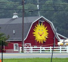 Sun Face BarnLocation:  At the corner of 206 and 15 near Augusta  Sussex Co - NJ