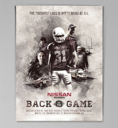 Nissan / TBWA Toronto - Back in the Game campaign