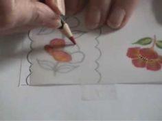 Dry Pencil Technique on Parchment
