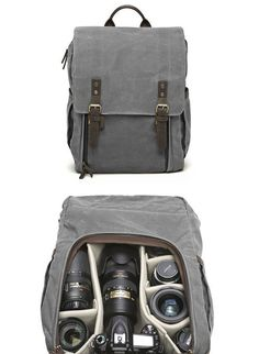 Like these different camera bags, more stylish than my hiking bad, maybe good for travel and city shooting