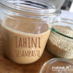 Tahini – Sesampaste selbstgemacht für klassische Mixer und auch Thermomix