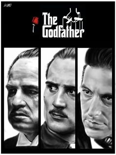The Godfather by Anabel Muñoz Godfather Quotes, The Godfather, Godfather Characters, Gladiator Movie, Movie Reels, Francis Ford Coppola, Best Movie Posters, Actor Picture, Minimal Poster