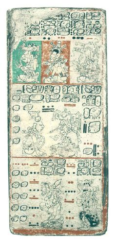 Az úgynevezett drezdai kódex írásos maja emlék, hieroglifás írásmóddal készült, gyönyörű, színes rajzokkal illusztrálva. Keletkezési ideje 1200 és 1250 közé tehető, a maja Chichén Itzában találták meg.