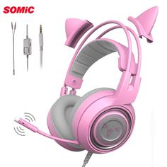 17e1ebd6669 US $36.69 19% OFF|SOMiC G951S PS4 Gaming Headset casque Wired PC Stereo Earphones  Headphones with Microphone for New Xbox One/Laptop Tablet Gamer-in ...