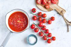 Simple and delicious recipe for cherry tomato relish.