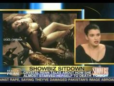 Crystal Renn on CNN's ''Showbiz Tonight'' - http://maxblog.com/15684/crystal-renn-on-cnns-showbiz-tonight/