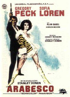 Arabesco (1966) EEUU. Dir: Stanley Donen. Comedia. Aventuras. Suspense - DVD CINE 1325